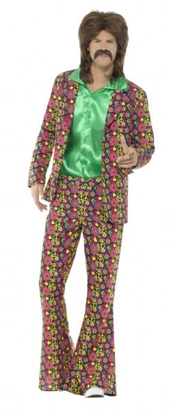 60's Psychedelic CND Suit